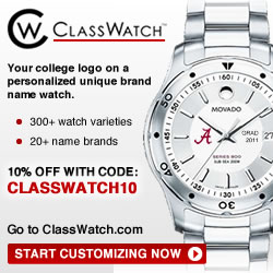 Save 10% code=CLASSWATCH10 Great graduation present