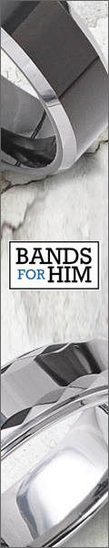 BandsForHim.com offers the highest quality Tungsten rings for men. Checkout their deals today!