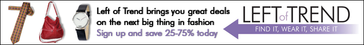 LeftofTrend.com is a unique social shopping website bringing the hottest new names in fashion to its members at discounted prices. Shop Today!