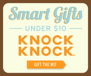Smart Gifts Under $10 from Knock Knock® Clever Gifts, Books, Notepads & Desk Stuff - KnockKnockStuff.com