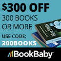 Save $300 on 300 books or more when you shop at BookBaby.com to make your custom printed books. Limited time offer. Cannot be combined with any other offer.