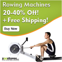 Rowing Machines up to 40% off! Free Shipping!