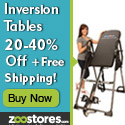 Inversion Tables up to 40% Off! Free Shipping!