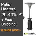 Patio Heaters up to 40% Off! Free Shipping!