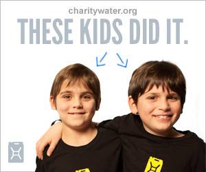 Give up your next birthday and bring clean water to people in need with charity: water