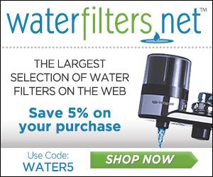 5% Off Purchase with Code: WATER5