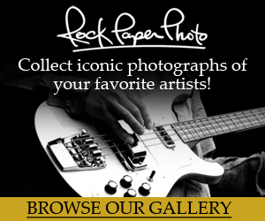 RockPaperPhoto.com offers a definitive collection of pop culture fine art photography. Our extensive online gallery features rarely-seen prints of your favorite artists, hand-signed by the photographers.