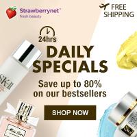 strawberry cosmetics, beauty, women, makeup
