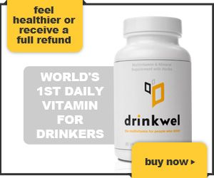 Drinkwel - World's First Daily Vitamin For Drinkers