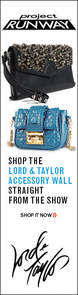 Project Runway - Shop the Lord & Taylor Accessory Wall Straight from the Show