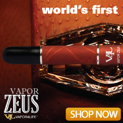 Introducing the world's first Vapor Zeus!