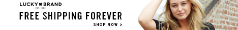 10% Off Plus at LuckyBrand.com!
