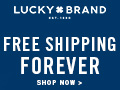 40% off Markdowns 12/22-12/24 at LuckyBrand.com!