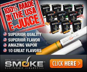 South Beach Smoke E-Cigarette - Made In The USA E-Juice