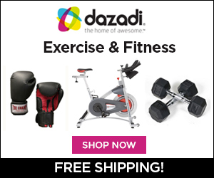 Free Shipping on all Fitness Items at Dazadi.com