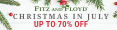 Fitz & Floyd Christmas in July, Up to 70% Off