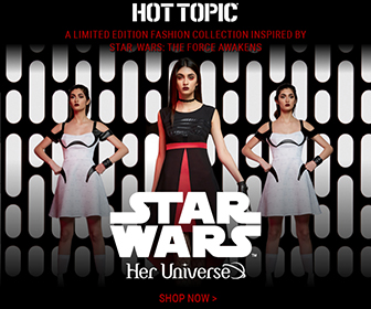 Shop the EXCLUSIVE collection inspired by Star Wars at HotTopic.com!