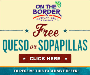 Free On The Border Mexican Grill & Catina Coupon