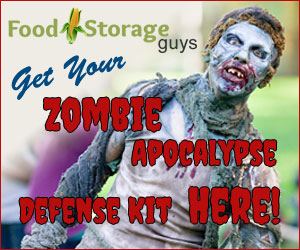 Get your Zombie Apocalypse Defense Kit Here!