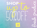 Save Up to 50% Off on Sale Items
