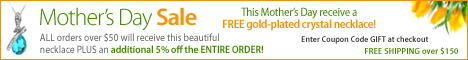 Get a FREE Gold Necklace for Mom!