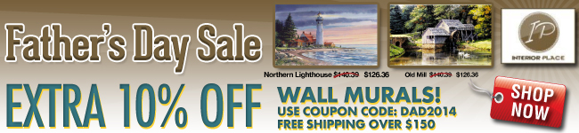 Extra 10% Off Wall Murals