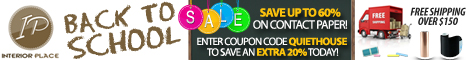 Save An Extra 20% On Contact Paper Today!