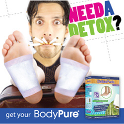 BodyPure Detox Foot Pads