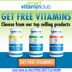 Smart Vitamin Club- Receive a Free Bottle of Vitamins!