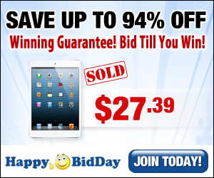 Bid, Win & Save!