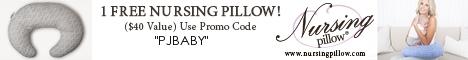 Get a Free Nursing Pillow or $40 Off!
