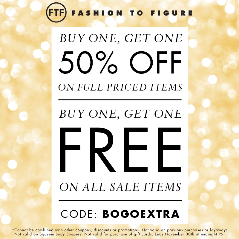 BOGO 50% Off + BOGO FREE on Sale Items with Code: BOGOEXTRA at FTF.com