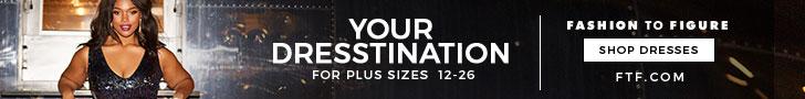 Your Dresstination: Shop Dresses for Plus Sizes 12-26