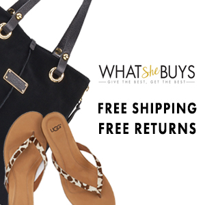 WhatSheBuys Free Gift with Purchase