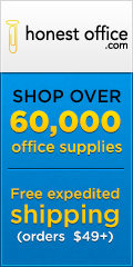 Honestoffice.com - Free expedited shipping (orders $49+)