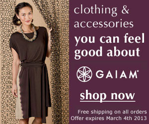 Gaiam - Organic Clothing, Ecological Lifestyle Products!