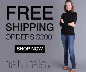 Naturals banner