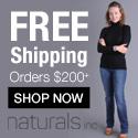 Free Shipping at Naturals