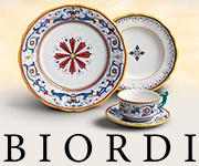 Shop Biordi.com for Brightly Hand Painted Ceramics!
