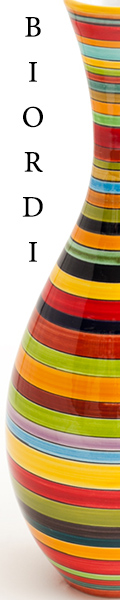 Shop Biordi.com for Brightly Hand Painted Ceramics!