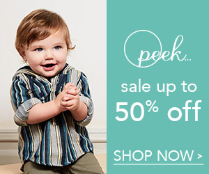 Save Up to 50% on Sale Items at peekkids.com