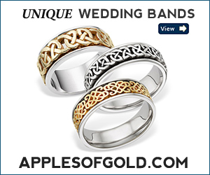 Apples of Gold Wedding Band