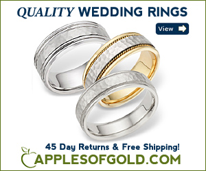 Apples Of Gold Wedding Rings