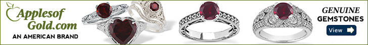 ApplesofGold.com - Genuine Gemstone Rings