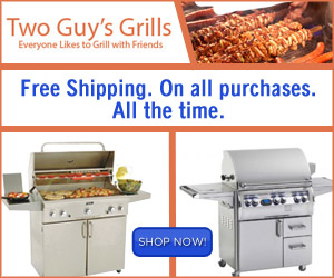 Shop Two Guys Grills today!
