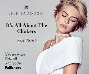Lele Sadoughi - It's all about the chokers