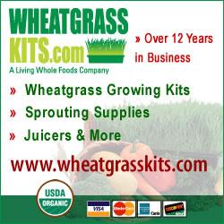 Shop WheatgrassKits.com and Save!