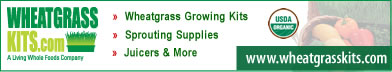 Shop WheatgrassKits.com and Save!