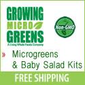 Microgreens Growing Supplies, Kits And Micro Greens Seeds