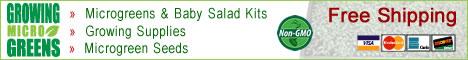 Shop GrowingMicrogreens Today! - Review Growing Microgreens : Microgreens Kits, Seed, And Supplies